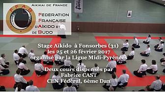 FFAB Aïkido-Budo : Fabrice CAST,  CEN Fédéral, 6ème Dan, au micro de Michel Lecomte #TvLocale_fr #Aikido #Fonsorbes