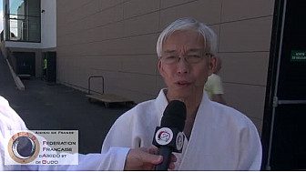 Aïkido : Interview du Doshu Moriteru UESHIBA en Provence le 5 juin 2016 #FFAB #Aikido #TvLocale_fr