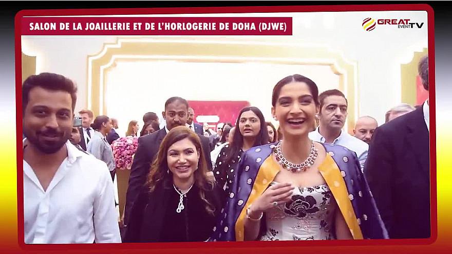 Salon de la joaillerie et de l'horlogerie de Doha (DJWE 2020)