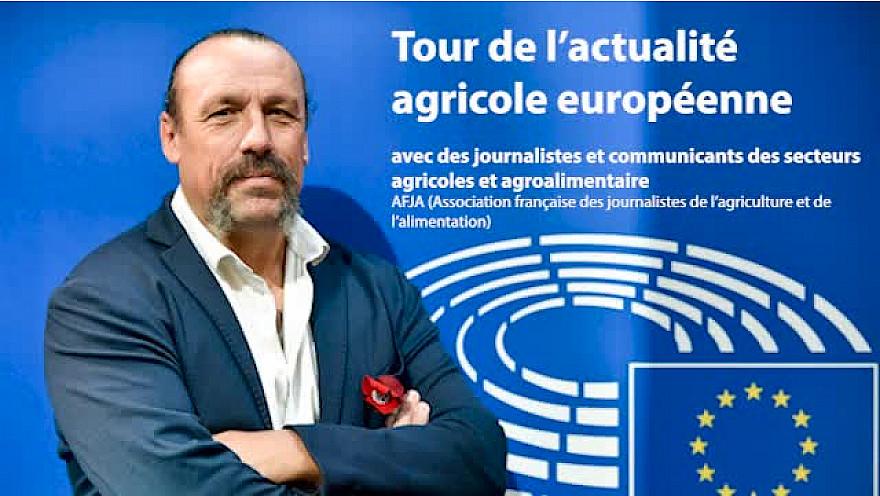 @BenoitBiteau député européen fait le tour de l'actualité agricole européenne avec @nicole_ouvrard (@agrapresse @reussir) & @ACahuzac (@leJDD @LeBetteravierFR) - rendez-vous organisé par @afja1